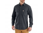 limited sale carhartt 103318 - beartooth solid long sleeve shirt granite heather last chance best price