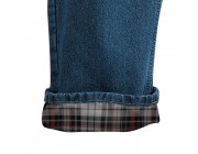 last chance carhartt b172 - flannel lined straight leg relaxed fit jean darkstone best price limited sale