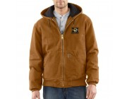 last chance carhartt 100839 - missouri sandstone active jacket quilted flannel lined brown limited sale best price