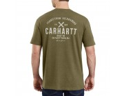limited sale carhartt 103562 - maddock outlast graphic short sleeve pocket t-shirt military olive heather last chance best price