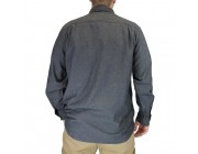 limited sale carhartt s202 - long sleeve chambray shirt blue best price last chance