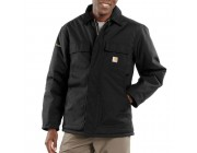 last chance carhartt c55 - extremes® arctic coat quilt lined black limited sale best price