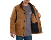 last chance carhartt 103283 - full swing® traditional coat quilt lined brown limited sale best price