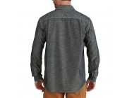 limited sale carhartt 102840 - somerton solid long sleeve shirt dark blue chambray best price last chance
