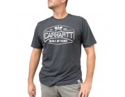 best price carhartt 103564 - maddock mountain c graphic short sleeve t-shirt fired brick heather limited sale last chance