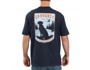 limited sale carhartt 104179 - dog graphic t-shirt navy last chance best price