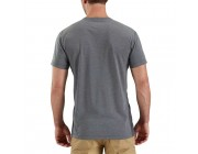 limited sale carhartt 102960 - force extremes® short sleeve t-shirt black/black heather last chance best price