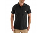 limited sale carhartt 103569 - force delmont short sleeve polo shirt black last chance best price
