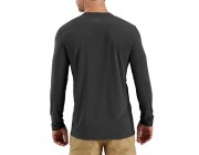 last chance carhartt 102998 - force extremes® long sleeve t-shirt navy heather best price limited sale