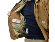 last chance carhartt 101622 - flame-resistant midweight active jacket quilt lined brown limited sale best price