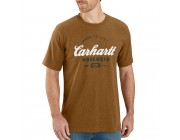 limited sale carhartt 104181 - made to last explorer graphic t-shirt oiled walnut heather best price chance