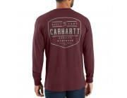 last chance carhartt 103840 - workwear built by hand graphic long sleeve t-shirt port best price limited sale