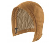last chance carhartt 102183 - flame-resistant quick duck® hood brown limited sale best price