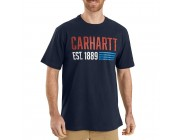 limited sale carhartt 104185 - made graphic t-shirt navy last chance best price