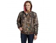 best price carhartt 101216 - women's camo active jac quilt flannel lined realtree xtra last chance limited sale