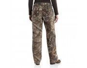 limited sale carhartt 101821 - women's kane sandstone relaxed fit dungaree realtree xtra best price last chance