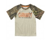 best price carhartt ca6071 - built for the outdoors tee boys mossy oak limited sale last chance