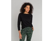 limited sale black long sleeves bow t-shirt last chance best price