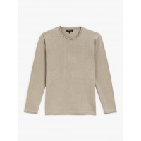 last chance beige linen coming sweater limited sale best price