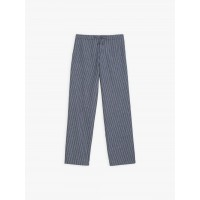 limited sale blue and white thin stripes pants last chance best price