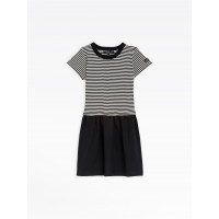 last chance black and white road dress best price limited sale