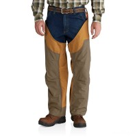 best price carhartt 102719 - upland field chaps brown last chance limited sale