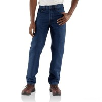 best price carhartt frb160 - flame-resistant denim relaxed fit jean limited sale last chance