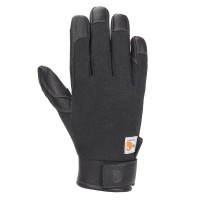 best price carhartt a654 - flame-resistant high dex glove black last chance limited sale