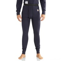 limited sale carhartt 101246 - flame-resistant force™ cold weather base bottom dark navy last chance best price