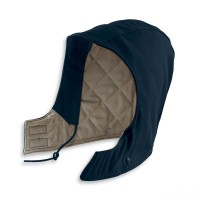 last chance carhartt fra265 - flame-resistant duck hood quilt lined dark navy limited sale best price