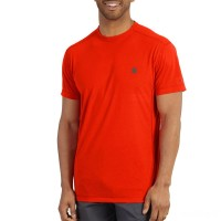 limited sale carhartt 101545 - force extremes™ short sleeve t-shirt energetic orange best price last chance