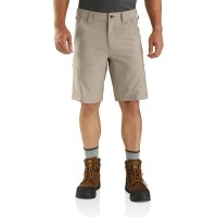 best price carhartt 103580 - force madden cargo short 11 inch tan last chance limited sale