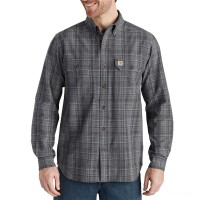 last chance carhartt 103352 - fort plaid long sleeve shirt shadow limited sale best price