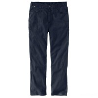 limited sale carhartt 104204 - flame-resistant canvas work five-pocket pant navy best price last chance