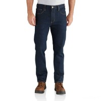 last chance carhartt 102807 - full swing® straight tapered jean ultra blue limited sale best price