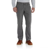 limited sale carhartt 102291 - rugged flex® rigby relaxed fit pant gravel best price last chance