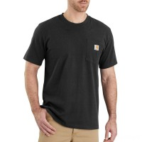 last chance carhartt 103296 - relaxed fit workwear pocket t-shirt black limited sale best price