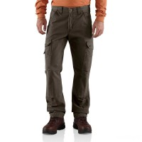 best price carhartt b342 - cotton ripstop relaxed fit cargo pant dark coffee limited sale last chance