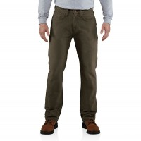 best price carhartt 100096 - weathered duck 5-pocket relaxed fit pant dark coffee last chance limited sale