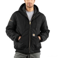 last chance carhartt j133 - extremes® arctic active jacket quilt lined black best price limited sale
