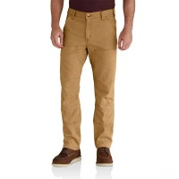 last chance carhartt 102802 - rugged flex® rigby double front pant hickory best price limited sale