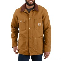 limited sale carhartt 103825 - chore coat blanket lined brown last chance best price