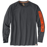 last chance carhartt 104081 - force birdseye graphic long sleeve t-shirt shadow best price limited sale