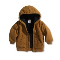 last chance carhartt cp8430 - active jacket boys brown limited sale best price
