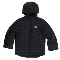 limited sale carhartt cp8522 - gilliam hooded jacket boys black last chance best price