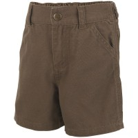 last chance carhartt ch8270 - dungaree short boys canyon brown best price limited sale