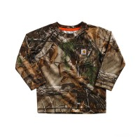 best price carhartt ca8484 - force camo pocket tee boys realtree xtra last chance limited sale