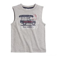 best price carhartt ca8956 - live outdoors tee boys heather gray limited sale last chance
