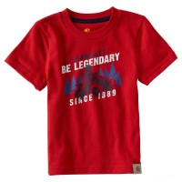 last chance carhartt ca8788 - be legendary tee boys tango red limited sale best price