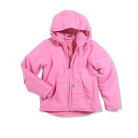 best price carhartt cp9456 - redwood jacket sherpa lined girls light pink last chance limited sale
